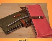 Leather Wallet  Women's Handmade, named Helios MADE TO ORDER