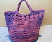 Crochet Bag (Pretty Peekaboos) Instant Download