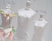 Unfinished Vintage Paper Dress Form Doll