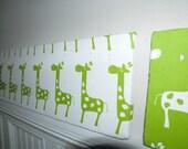 "Bulletin Board Gift Set Small (8 x 24"") Designer Fabric  - Organize in Style"