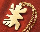 SALE - Handmade Bronze Jewelry for Women - Bronze Pendant with Chain BNK3