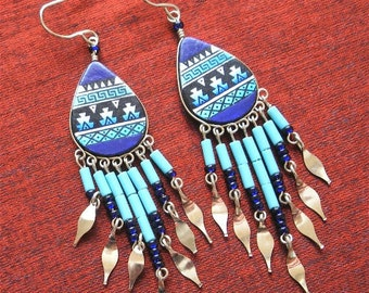 Jewelry SALE - Handcrafted Beaded Earrings - Beaded Jewelry for Women - Jammer JewelryER-15