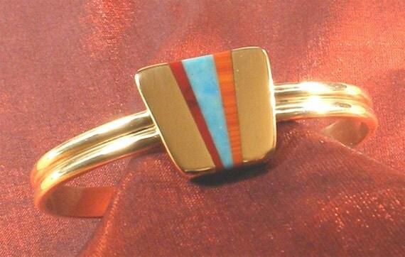 SALE - Artisan Handcrafted Bronze Bracelet - Artisan Handmade Bronze Jewelry BR-63