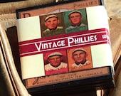 Philadelphia Phillies Coaster Set, Baseball Card Coasters, Man Cave Decor,  Sports Decor, Father's Day Gift Idea, Wood Coasters