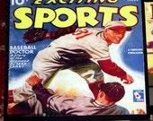 Classic Sports Coaster Set, Baseball, Football, Boxing, Basketball Drink Coasters, Man Cave Decor, Retro Barware, Vintage Sports Decor