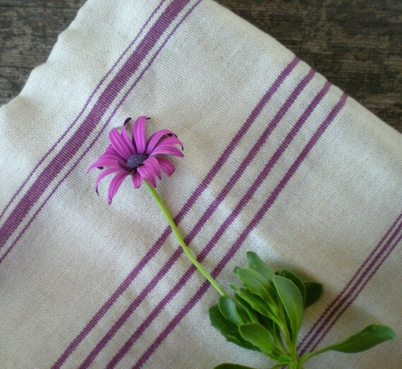 sale 20% linen peshtemal, turkish towel, mother's day, hammam towel, pareo, beach wedding, bridgesmaid, purple striped towel