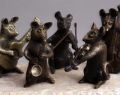 Mouse Jazz Band: Violin, Saxophone, Jazz Guitar and Bass Player - ninarossi