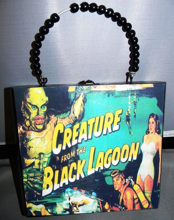 Black Lagoon Cigar Box Purse