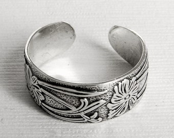Sterling Silver Pattern Toe Ring - any size