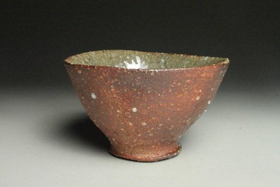 Anagama Fired Shigaraki Style Rice Bowl