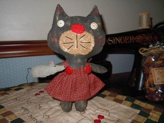 Primitive Kiki Kitty