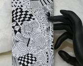 Zen design checkbook cover
