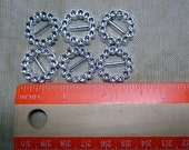round slidders for 18 inch doll belts or scrapbooking
