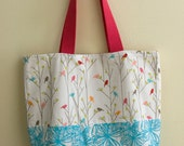 Book Bag Tote Bag - Tweet Tweet