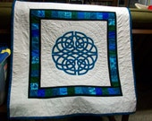 Aoife Celtic Knot Applique Quilt Crib/Throw/Wall Hanging