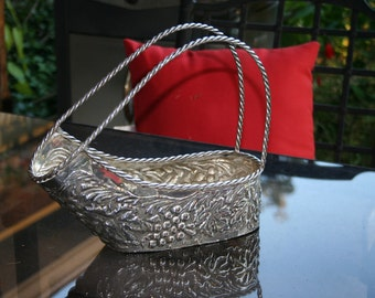 Silver Plated Wine Caddy