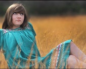 Teal  Equinox Dress
