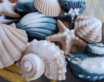 Seashell Soap - stocking stuffer, hostess gift