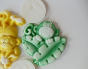 80 Monkey Soap Favor - animal baby shower favor, birthday party favor