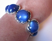 Blue Moon - Vintage CORO Bracelet