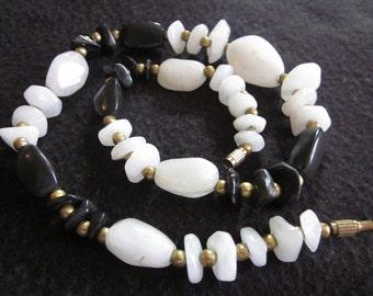 Solid As A Rock Vintage Necklace