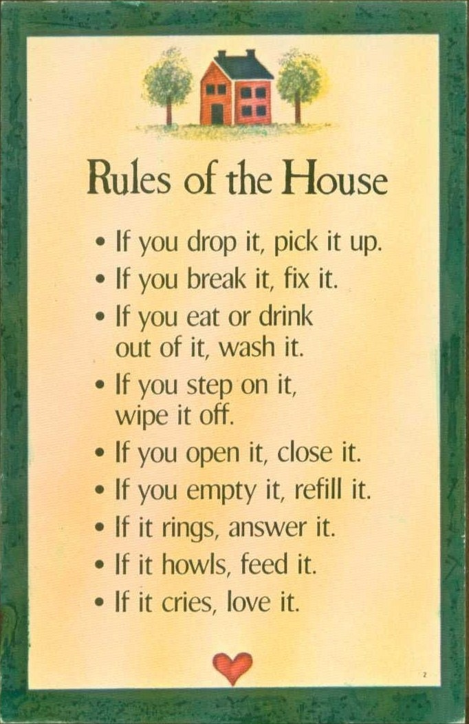 my house my rules quotes quotesgram