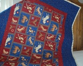 Horse Quilt FREE SHIPPING to US