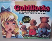 Collectible Pop up Book Goldilocks and the Three Bears,Illustrations by  Kubasta, 1977