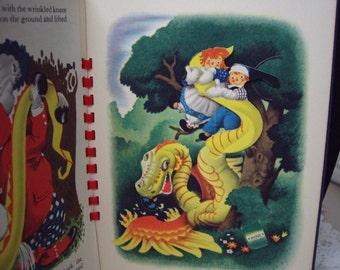 Rare Animated Raggedy Ann and Andy Book. Illustrated by Julius Wehr, 1944