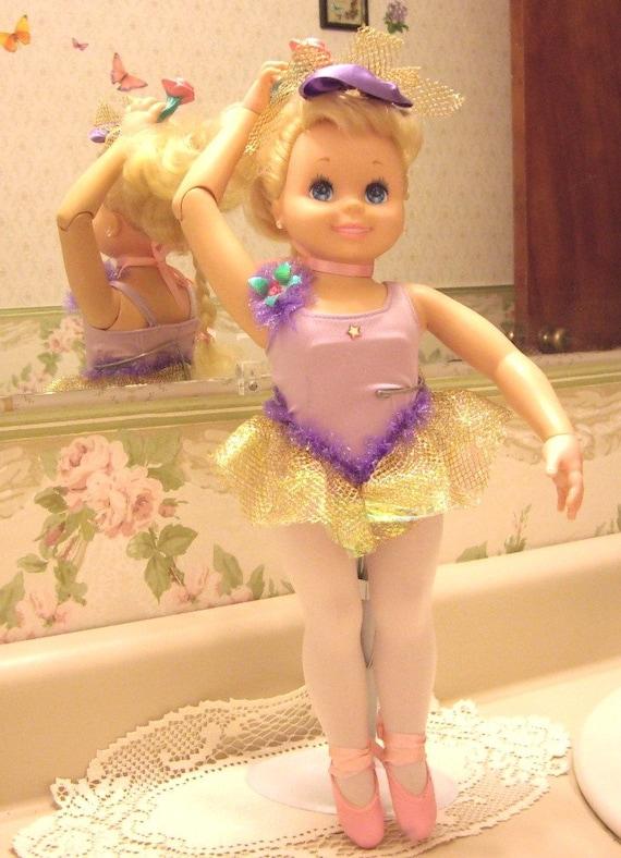 My Pretty Ballerina Doll Tyco 1989