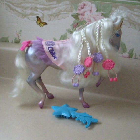 RESERVED FOR Noley Fashion Star Fillies, Chloe, by Kenner 1987  All accessories,  No box