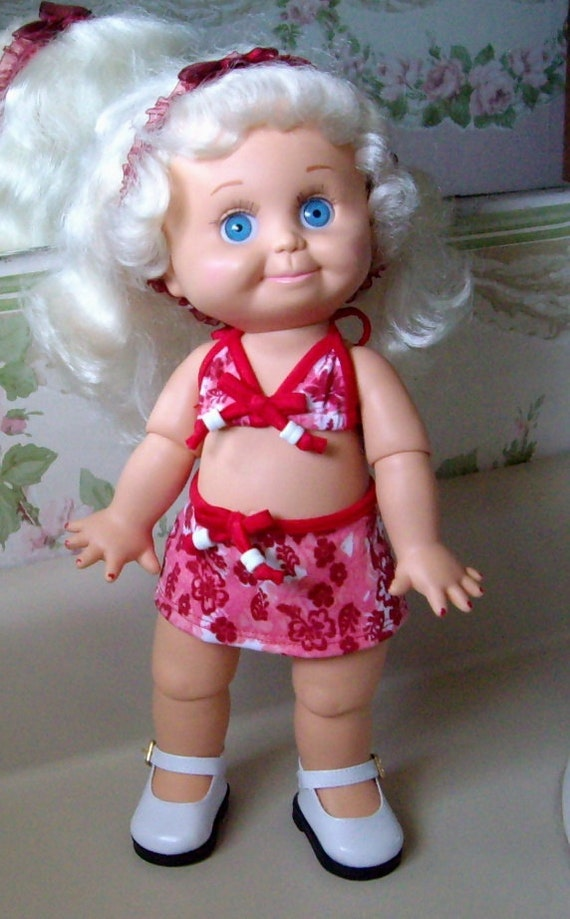 Vintage Galoob Baby Face Doll No 1 So Sweet Sandi 1990