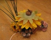 Mouse Finger Puppets / Sunflower House and finger puppts