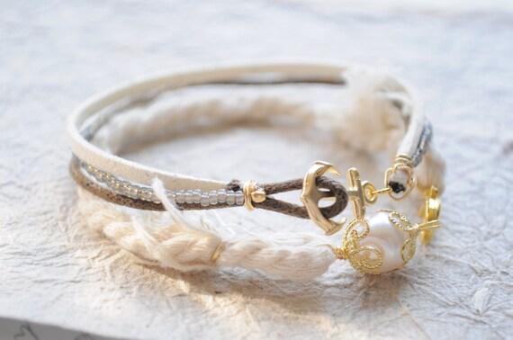 Summer Bracelet No.4 and Summer rope bracelet SET