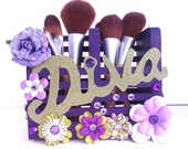 Diva Makeup Brush Holder/Pen Holder