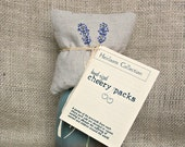 Hand-sized Hot/Cold Cherry Pit Packs: Lavender (Heirloom Collection)