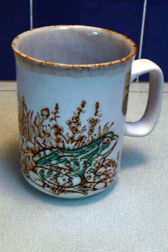Dunoon Ceramic Embossed Mug Scotland By Edimae On Etsy