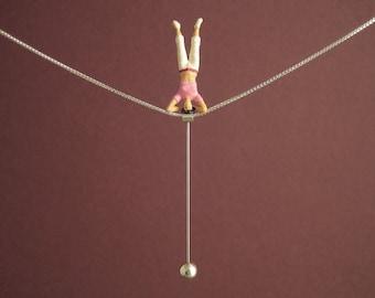 """Tightrope walk """"YOGA"""" - Necklace"""