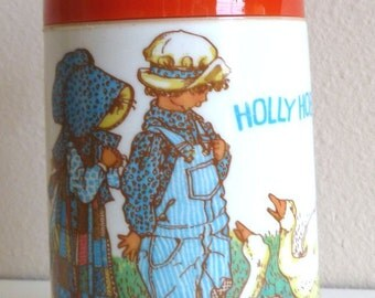Holly Hobbie and Robby Thermos 1978