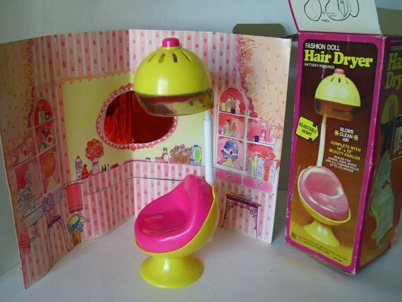 Hair Dryer By Fashion Doll 1977