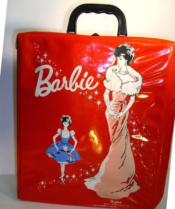 Red Barbie Case 1962