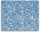 """J805 Rolling Mill  (Floral Paper  from 1887) 5""""x7"""" Low Relief Pattern"""