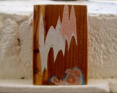 small cedar art block
