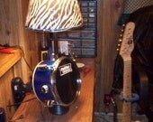 1of a kind lamp, authentic drum, FREE SHIPPING