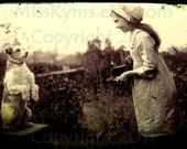 Vintage photograph, digital download, Photo Pup