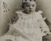 The Baby Prince digital download for altered art