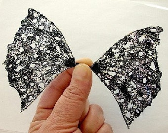 Fairy Wings-Ooak Gothic- Sized for Dolls and Bears (Made to Order by Request)