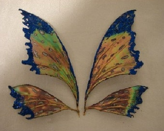 Fairy Wings-Iridescent- sized for Dolls and Bears (Made By Request)
