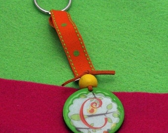 cute and sassy/personalized keychain
