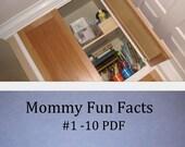 Mommy fun facts - preschool tips 1-10 --- PDF